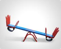 Купить качалки и балансиры для детской площадки