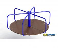 Карусель большая стоя для детской площадки Biz-305