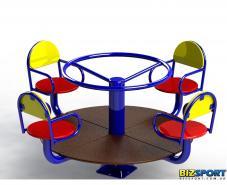 Карусель для детской площадки Классик Biz-308