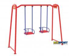 Выбрать и купить Детские качели двойные усиленные Biz312