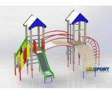 Купить детский игровой комплекс Две башни Biz-702