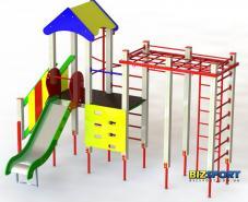 Детский игровой комплекс Енот Biz712 вид спереди