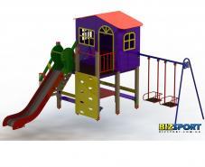Выбрать и купить детский игровой комплекс Халабуда Biz806