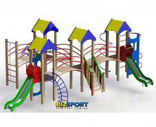 Детский игровой комплекс Крепость друзей Biz-718