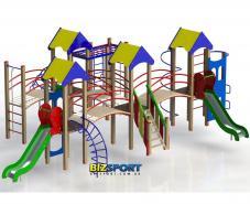 Детский игровой комплекс Крепость спортивная Biz-7181