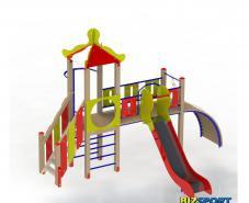 Детский игровой комплекс Мостик Biz-704