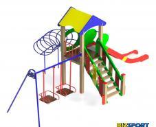 Детский игровой комплекс Кузя Biz-701.2