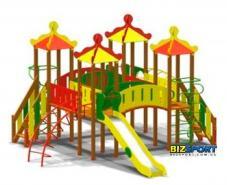 Детский игровой комплекс Меганом Biz-708