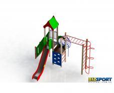 Игровой комплекс для детской площадки Радость Biz-805