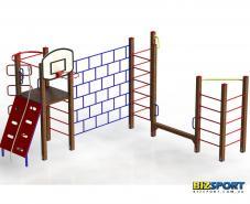 Гимнастический комплекс Спортик плюс Biz657.1