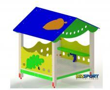 Игровой домик для детской площадки Biz-214