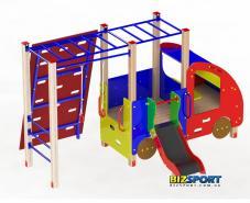Комплекс авто гимнаст для детской площадки Biz402