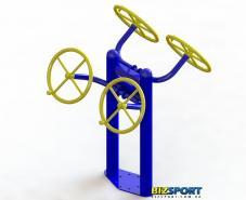 Купить уличный тренажер для мышц рук плечевого пояса SG-122