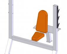 Скамья для жима сидя ТС-105