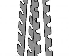 Стойка для хромированных и обрезиненных гантелей (ТС-134)